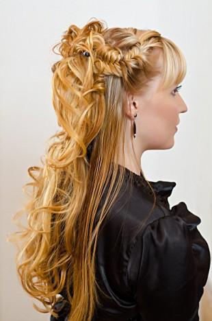 Прическа косы