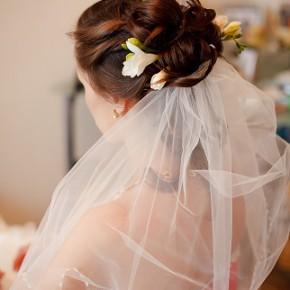свадебная прическа для Веры