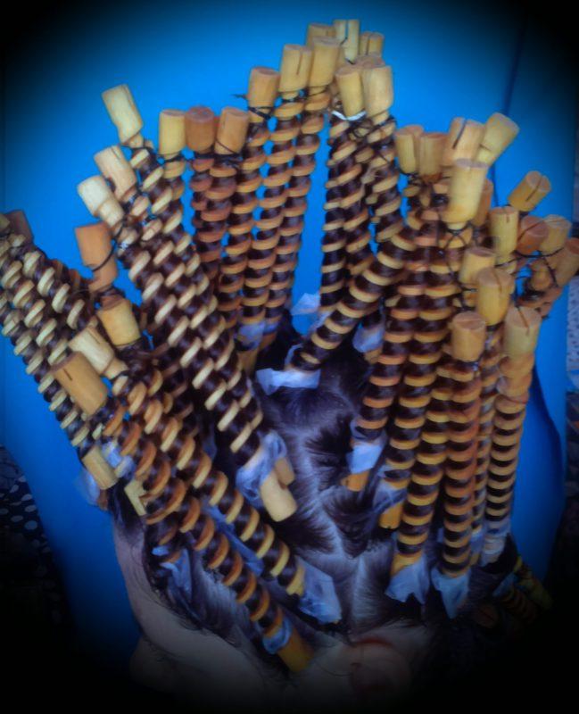 Коклюшки спиральная завивка